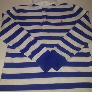 Ralph Lauren polo striped long-sleeve shirt